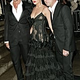 Stefano Gabbana, Jennifer Lopez, and Domenico Dolce — 2004