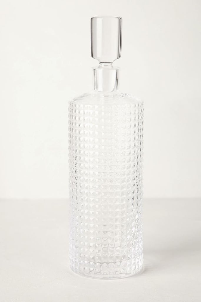 This stunning crystalline decanter ($68) has a cool, retro-inspired style — as if it's straight off a Mad Men bar cart.