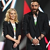 Kylie Minogue and her partner Joshua surprised everyone with an important message.