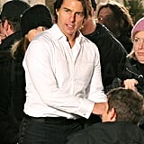 Tom Cruise Gets Chased Through Chilly Vancouver