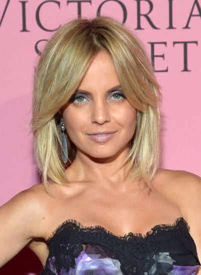 Mena Suvari Wearing Purple At The Victoria's Secret 7th Annual 'What Is Sexy?' Party
