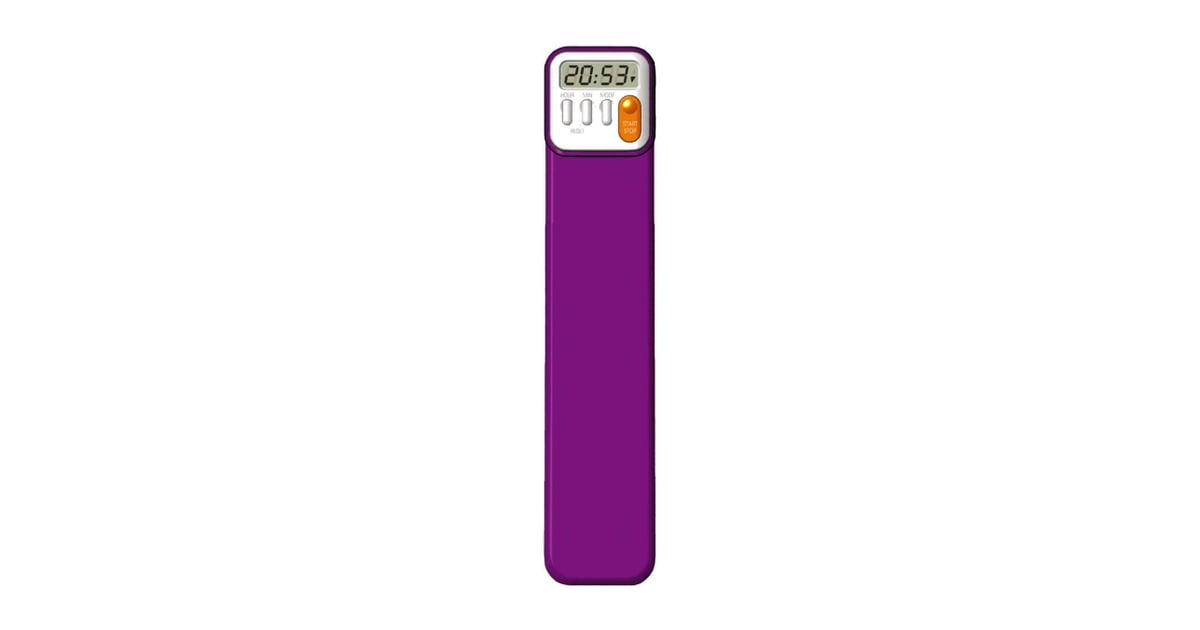 Mark My Time Purple Digital Bookmark And Reading Timer 22