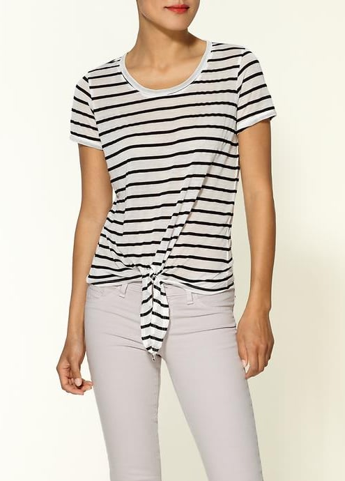 Opt for a Parisian-chic take on stripes and wear it with your slouchiest, most beloved pair of boyfriend jeans. Whetherly Bardot Tee ($92)