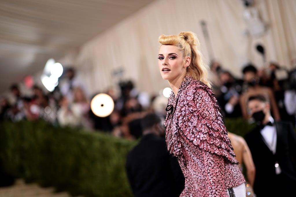 Kristen Stewart's '50s Pinup Fringe at the 2021 Met Gala