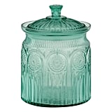 The Pioneer Woman Adeline Cookie Jar Turquoise ($15)