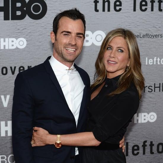 Jennifer Aniston und Justin Theroux bei Premiere in NY
