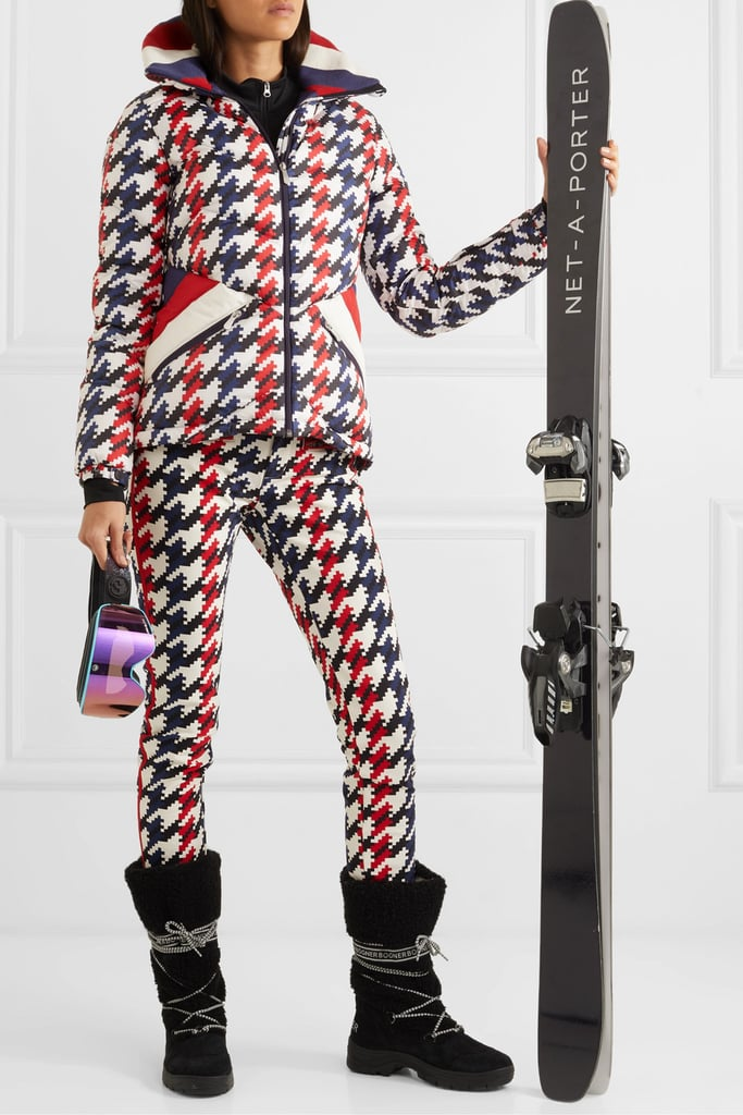 Perfect Moment Houndstooth Ski Set