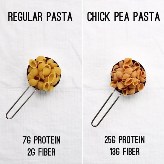 Calorie Comparison of Pasta and Chickpea Pasta