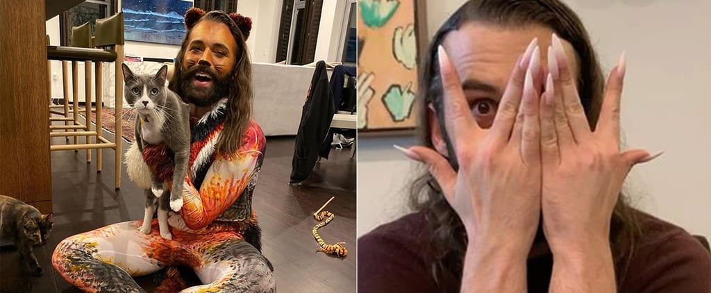 Jonathan Van Ness's Ombré French Manicure