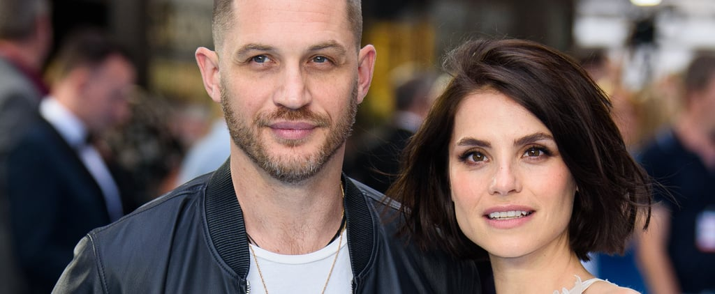Tom Hardy and Charlotte Riley Swimming With Men Premiere
