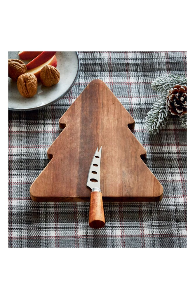 Acacia Tree Board & Cheese Knife