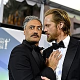 Taika Waititi and Alexander Skarsgard at the 2020 SAG Awards
