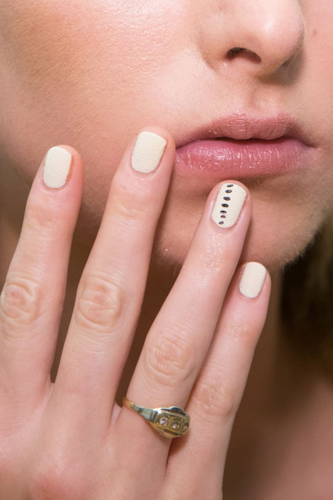 Subtle Feature Nail Detail From Tibi Spring 2015 | The Best Hair ...