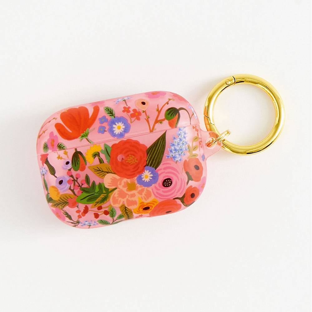 Pink Floral AirPods Pro Case
