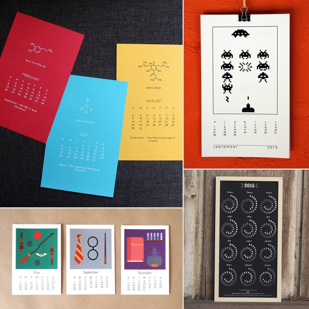 Geeky 2015 Calendars