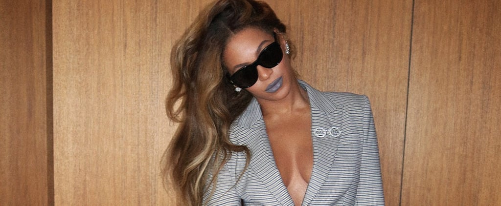 Beyonce Wearing Suits on Instagram October 2018