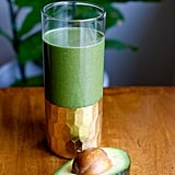 Coconut Oil Detoxifying Green Smoothie