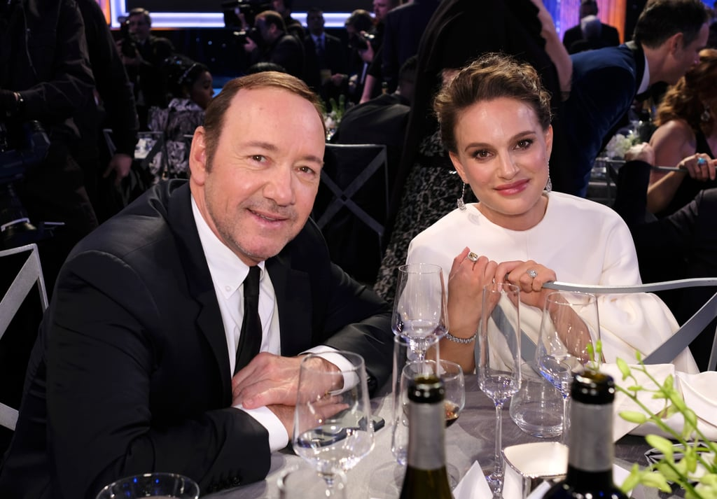 Pictured: Natalie Portman and Kevin Spacey