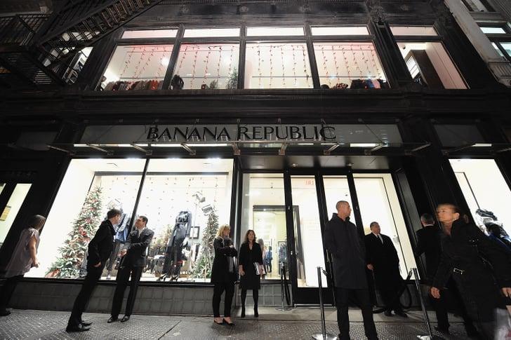 Banana Republic Breaks Down Massive New Store into Mini Boutiques