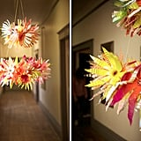 Water-Bottle Chandelier