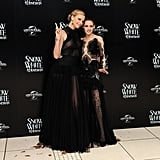 Sheer Snow White — Kristen Stewart, Charlize Theron and More Go See-Through For London Premiere