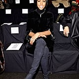 Kelly Rowland checked out the Kaufmanfranco show on Wednesday.