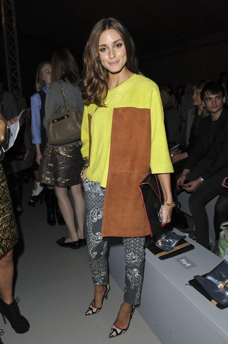 Celebrities At Fashion Week 2012 Popsugar Fashion Photo 12