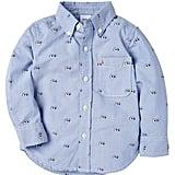 Jack Spade Googly Eye Long-Sleeved Shirt