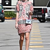 Kate Bosworth wore a summery dress.
