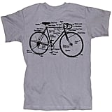 Retro Bike Diagram T ($16)