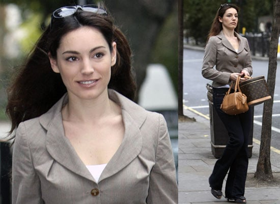 Photos Of Kelly Brook Leaving Her Home in London