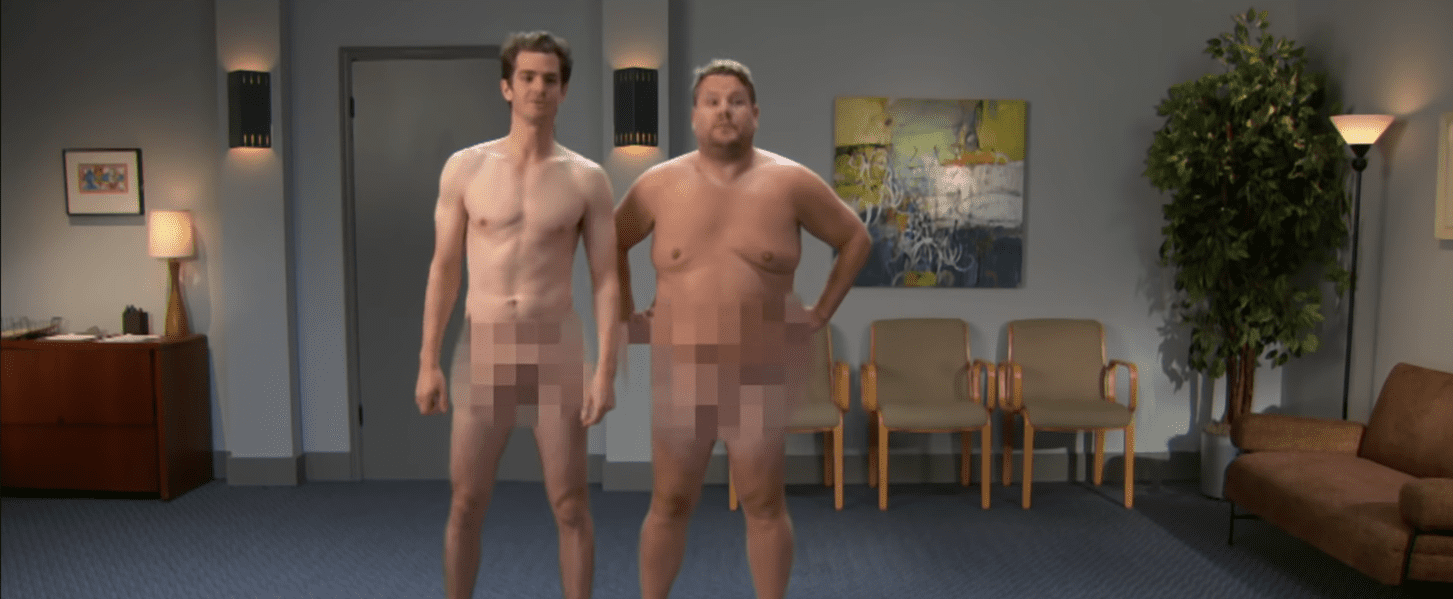Andrew Garfield and James Corden Game of Thrones Auditions
