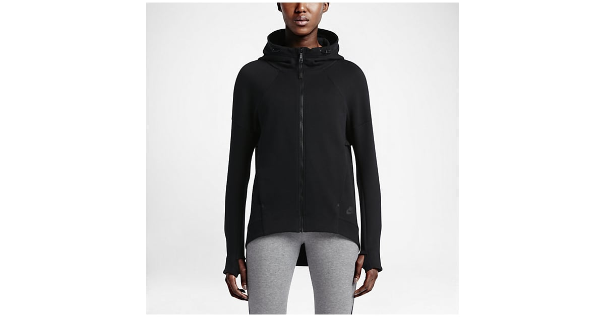 Nike Tech Fleece Full-Zip Women\u0027s Hoodie ($120) | Modest and Hijabi Workout  Clothes | POPSUGAR Fitness Photo 7