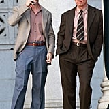 Ryan Gosling and Josh Brolin wore their Gangster Squad costumes.