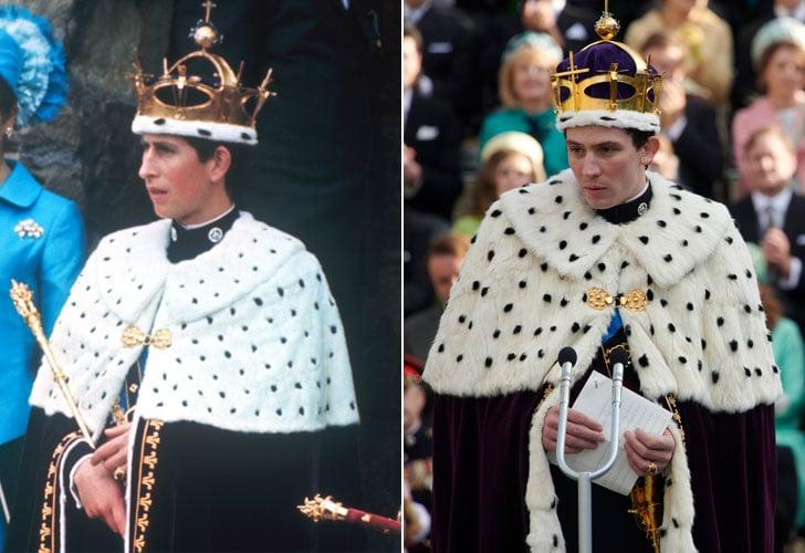 Prince Charles and Josh O'Connor