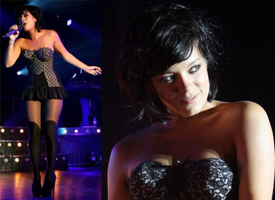 Photos of Lily Allen Performing Live in Sydney