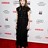 Keri Russell in Gucci Maternity Gown