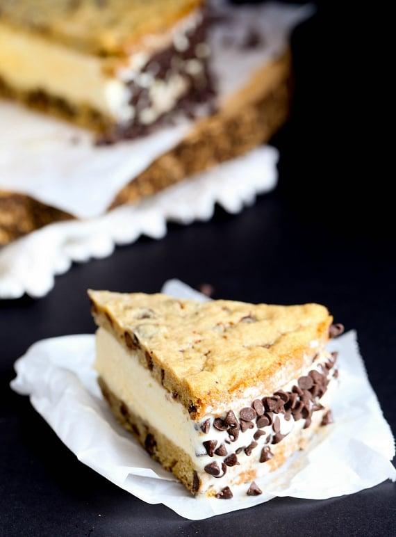 Chipwich Ice Cream Cake