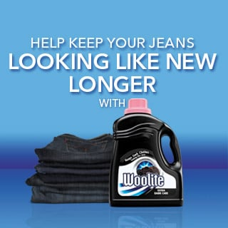 Those Favorite Jeans of Yours Are Due For a Much-Deserved Cleaning — With Woolite®