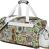 Bluboon Women Canvas Overnight Weekender Bag