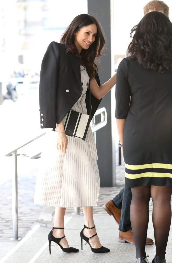Meghan Markle Altuzarra Striped Dress