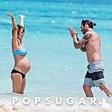 Audrina Patridge Baby Bump Bikini Pictures in Hawaii 2016