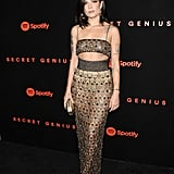 Halsey at Spotify's 2017 Secret Genius Awards