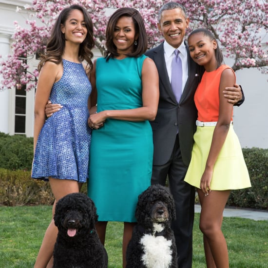 Pictures of Bo and Sunny Obama With the Family