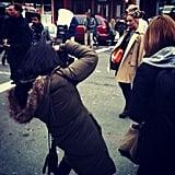Fab's NYFW Instagram Album
