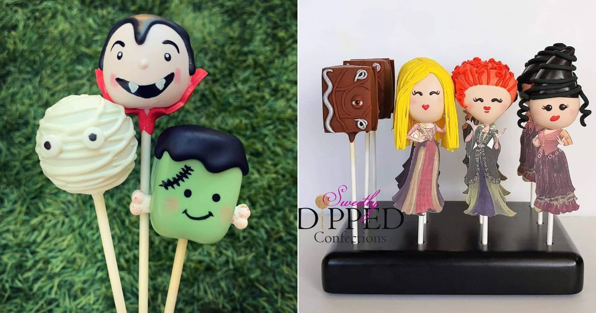 Monsters, Mummies, and More Adorable Halloween Cake Pop Ideas Your Kids Will Love