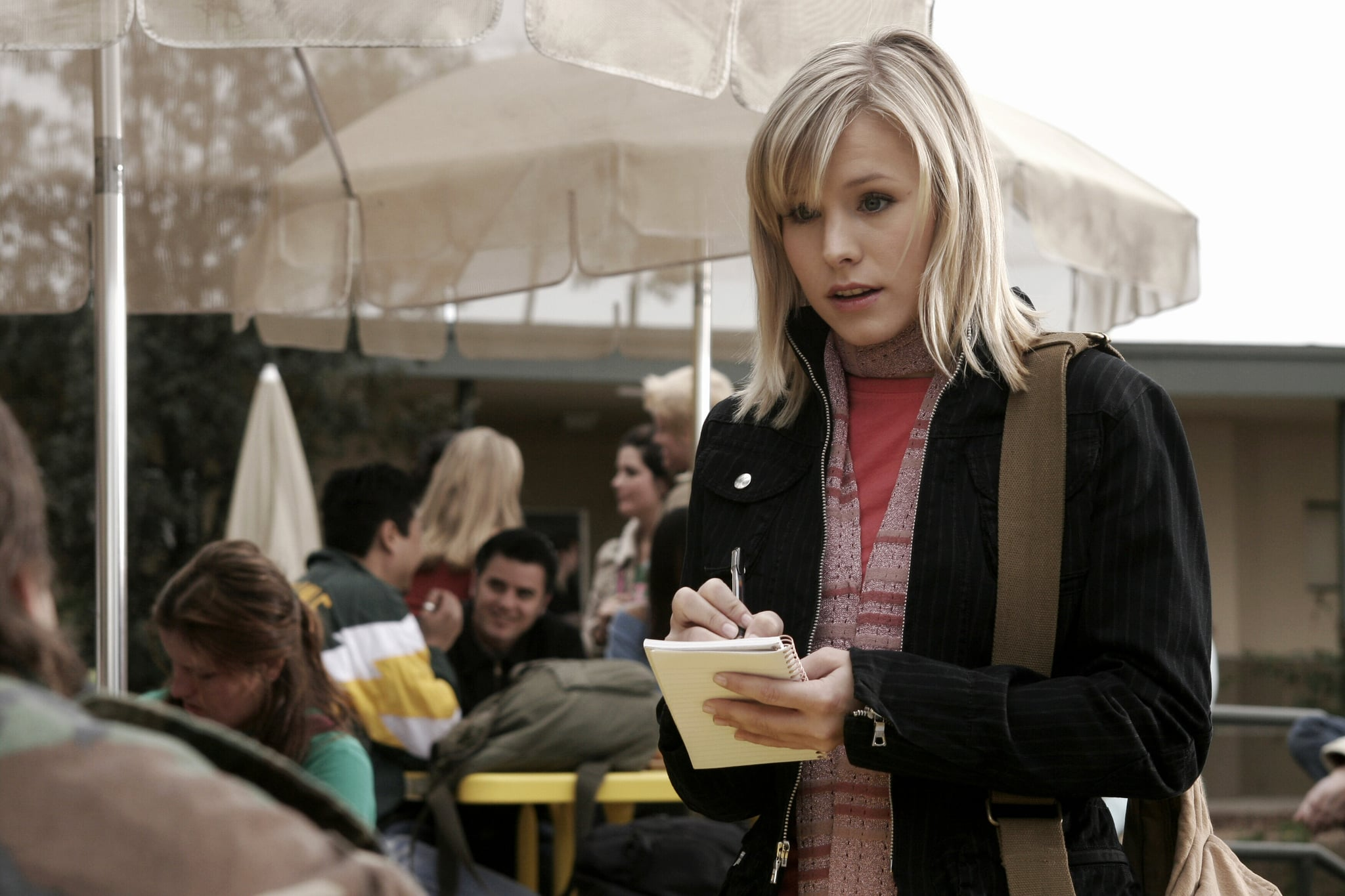 VERONICA MARS, Kristen Bell, (Season 1), 2004-07. photo:  Warner Bros. Television / Courtesy Everett Collection