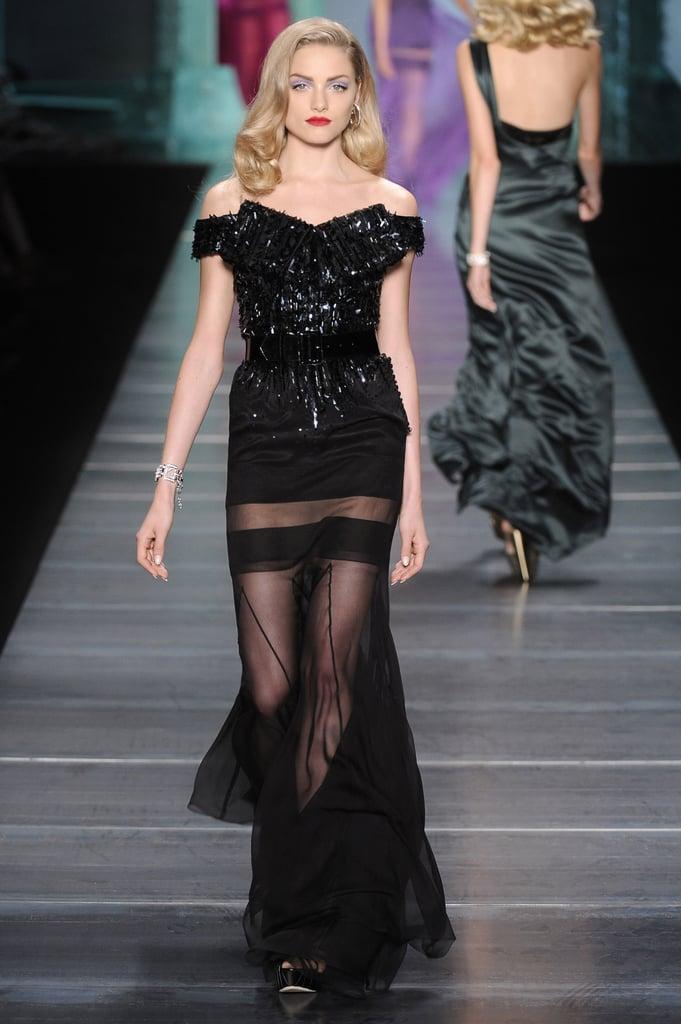 Christian Dior Channels Film Noir for Spring 2010