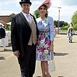 The longtime couple were dressed to impress in Ascot, England at Royal Ascot in June 2015.