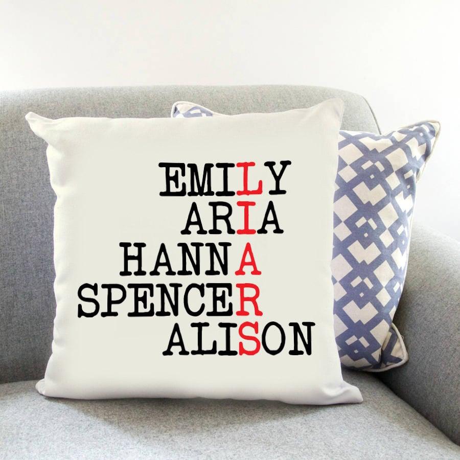 Printed Cushion ($9)